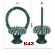 Фон корзины,К43,ПВХ,металл